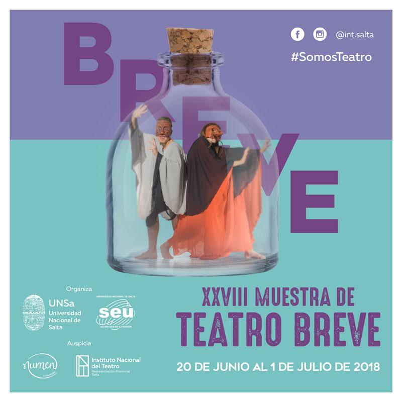 Lee más sobre el artículo XXVIII Muestra de Teatro Breve