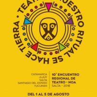 Comienza el «10° Encuentro Regional de Teatro NOA»