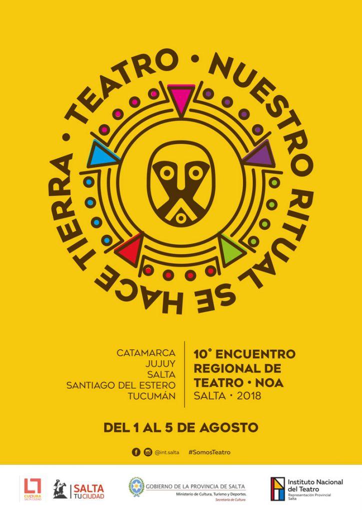Lee más sobre el artículo 10° Encuentro Regional de Teatro NOA – Salta 2018