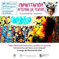 Formación Teatral en Cafayate: inscripciones abiertas