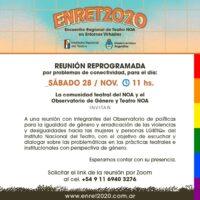 Teatro y Género: Invitan a una reunión de diálogo