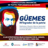 """Convocatoria: """"Martín Miguel de Güemes: INTegrador de la Patria"""""""
