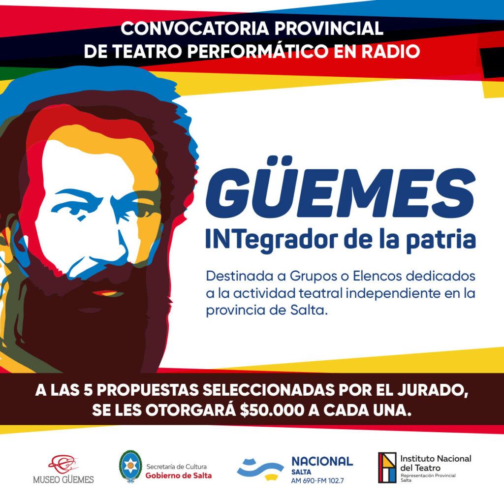 """Finalizan las inscripciones para participar en """"Martín Miguel de Güemes: INTegrador de la Patria"""""""