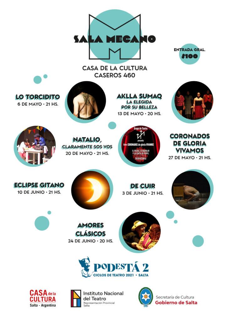 Este jueves, comienza el Ciclo de Teatro «Sala Mecano»
