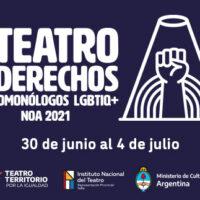 Continúa el Ciclo Virtual 🏳️🌈»LGBTIQ+ 2021 NOA»🏳️🌈