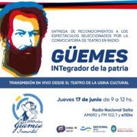 5 obras teatrales sobre Güemes serán transmitidas por Radio Nacional