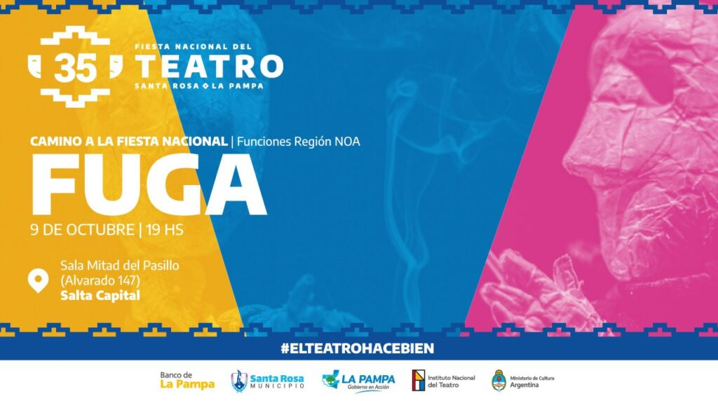 Lee más sobre el artículo «Fuga» se encamina a la Fiesta Nacional del Teatro
